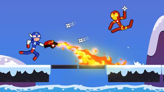 Spider Stickman Fighting – Supreme Warriors Mod Apk 1.3.4 (All Unlocked) 2