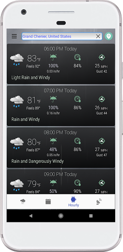 Hyperlocal Weather (Dark Sky Powered by) & Radar screenshots 6
