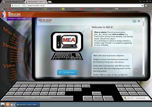 MEA - Mise En Abyme Cloud Computers 2.3 Screenshots 8