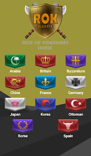 ROK Guide - Guide for Rise of Kingdoms