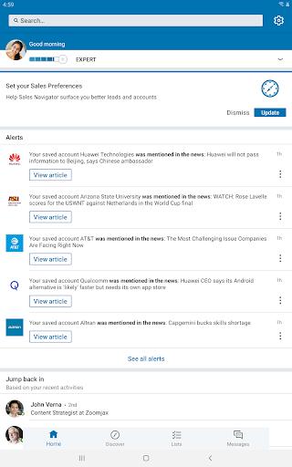LinkedIn Sales Navigator screenshots 5