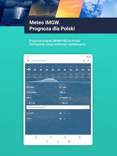 Meteo IMGW Prognoza dla Polski  Screenshots 9