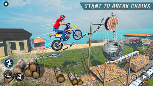 Bike Stunt 3 Drive & Racing Games - Bike Game 3D Apkfinish screenshots 2