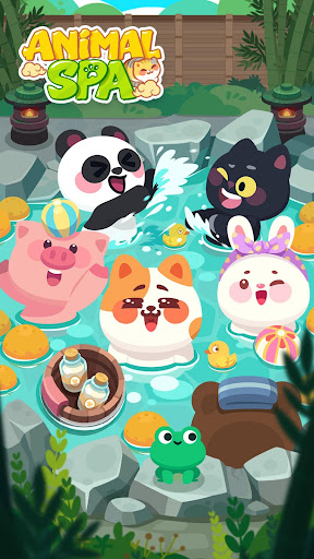 Animal Spa - Lovely Relaxing Game apkmr screenshots 1