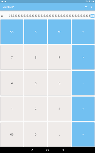 Calculator with many digit (Long number) 1.9.11 screenshots 9