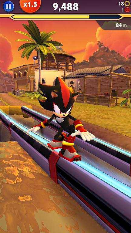 Sonic Dash 2: Sonic Boom poster 1
