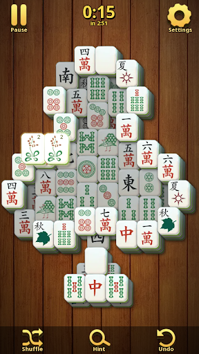 Mahjong Solitaire Classic : Tile Match Puzzle 2.1.16 screenshots 1