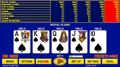 Video Poker - Classic Casino Games Free Offline  screenshots 12