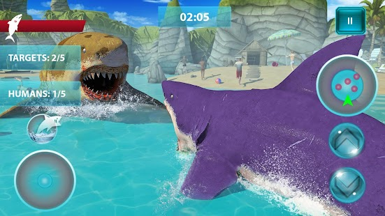Shark Attack Simulator: New Hunting Game Screenshot