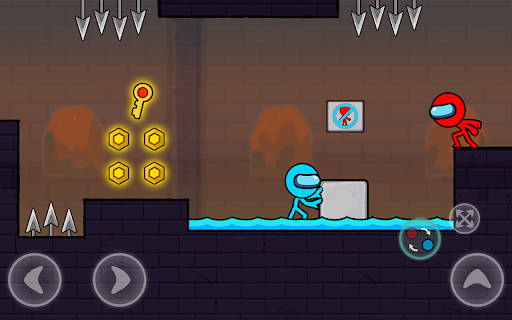 Red and Blue Stickman : Season 2 android2mod screenshots 21