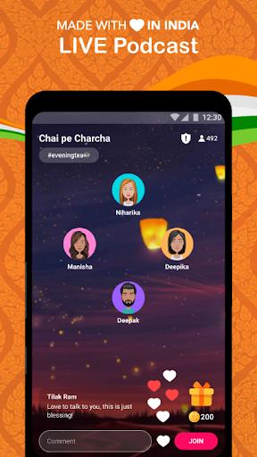 FRND - Audio Social Media App screenshots 1