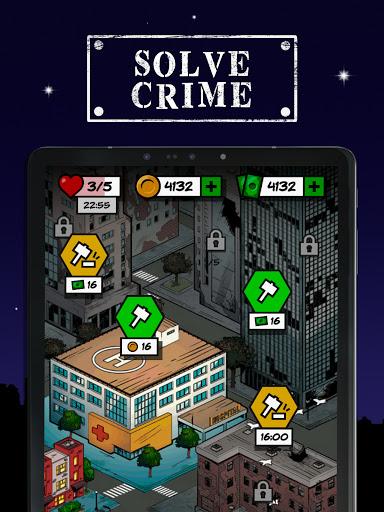 Uncrime: Crime investigation & Detective gameud83dudd0eud83dudd26 android2mod screenshots 6