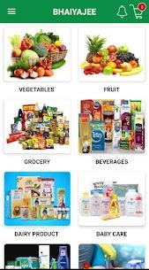 BHAIYAJEE- Vegetables/Fruit/Grocery shopping app 1.0 Mod + Data Download 3