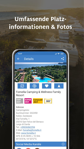 Download ADAC Camping / Stellplatz 2021 powered by PiNCAMP mod apk 2