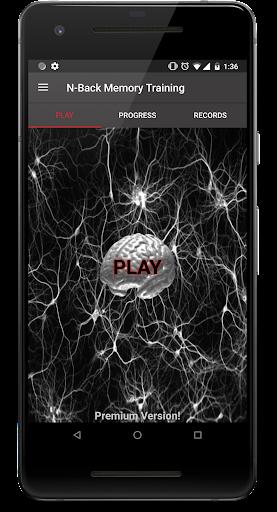 N-Back Memory Training  screenshots 1