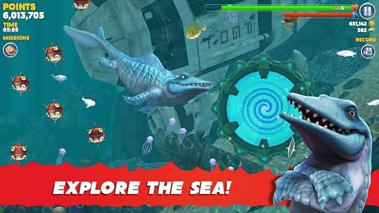 Hungry Shark Evolution MOD APK 8.7.6 [Unlimited Money/Gems] Latest Version Download 2