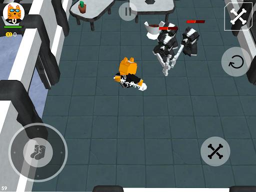 Cats vs Dogs - 3d Top Down Shooter & Pixel War  screenshots 8