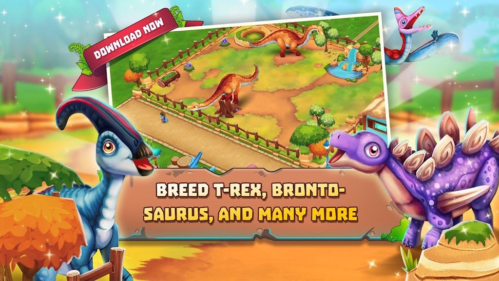 Dinosaur Park – Primeval Zoo  poster 2
