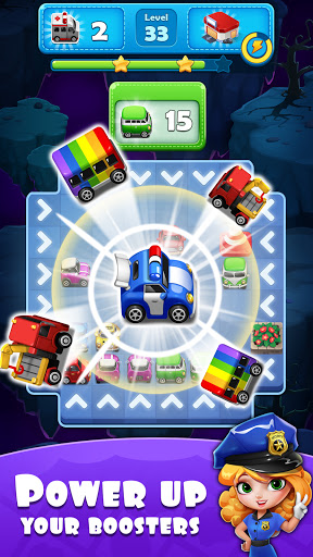 Traffic Jam Cars Puzzle android2mod screenshots 3