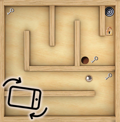 Classic Labyrinth 3d Maze - The Wooden Puzzle Game modiapk screenshots 1