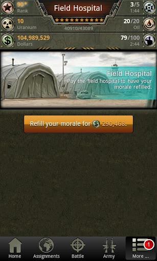 War Game - Combat Strategy Online  Screenshots 5