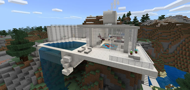 Modern Houses For Minecraft PE 2021 Apkfinish screenshots 4