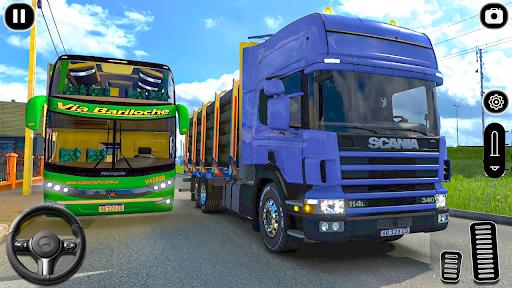 euro un camion parking défi: conduite simulateur APK MOD screenshots 1