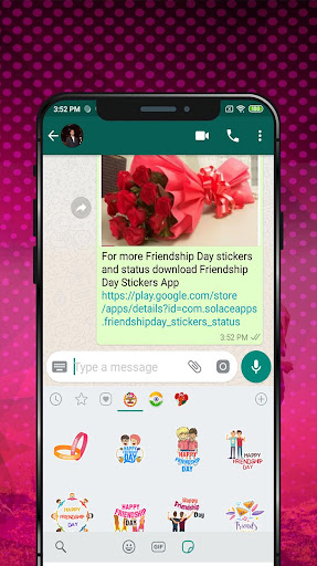 friendship day sticker for whatsapp screenshot 3