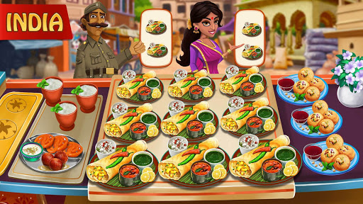 Cooking Day - Chef's Restaurant Food Cooking Game apkslow screenshots 8