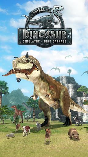 Primal Dinosaur Simulator - Dino Carnage 1.11 screenshots 1