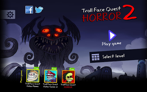 Troll Face Quest Horror 2: ud83cudf83Halloween Specialud83cudf83 2.2.3 Screenshots 6