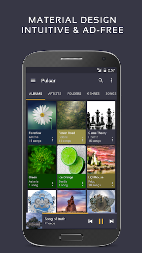 Pulsar Music Player - Mp3 Player, Audio Player 1.10.1 screenshots 1