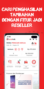 Kerjaholic – Find Workers, Jobs & Extra Income 4.4.1 (MOD + APK) Download 1