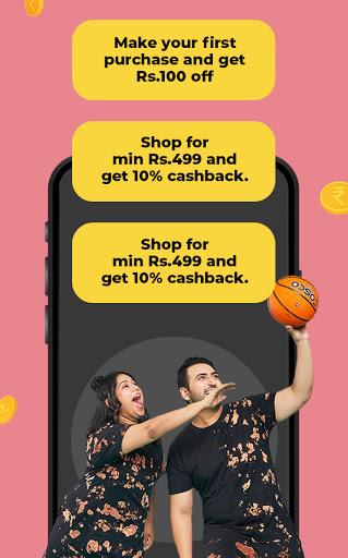 Bewakoof - Online Shopping App for Men & Women apktram screenshots 2