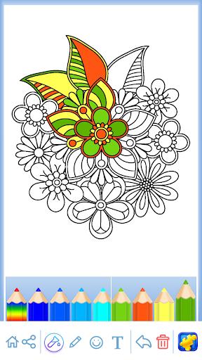 Mandala: Coloring for adults  screenshots 14
