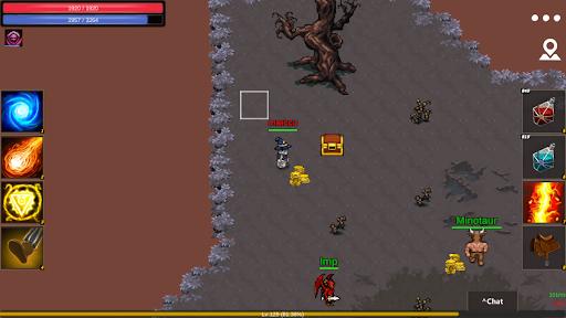 Arcadia MMORPG online 2D like Tibia  screenshots 8