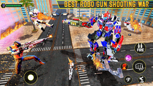 Robot Car Transform 2020 : Robo Wars 1.20 Screenshots 10