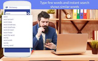 Advance Dictionary Box App