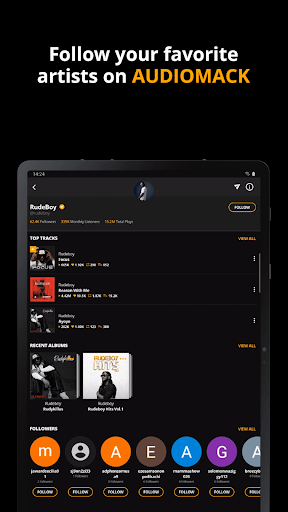 Audiomack: Download New Music Offline Free apktram screenshots 15