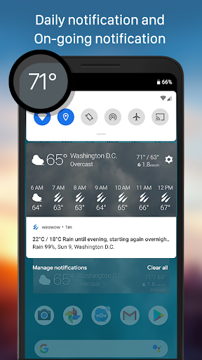 Weather & Widget - Weawow android2mod screenshots 6