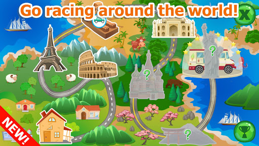 Racing games for toddlers  screenshots 1