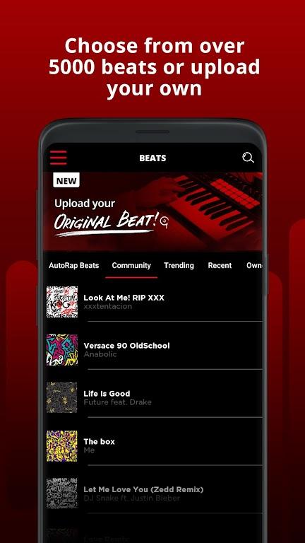 AutoRap by Smule: Record rap over beats w/vocal FX  poster 1