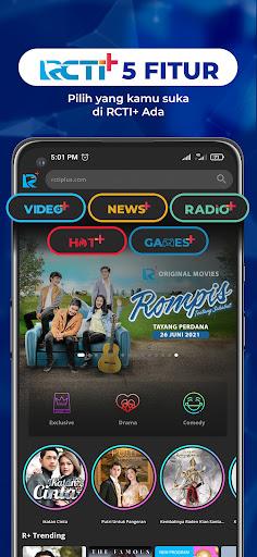 RCTI+ | Video, News, Radio, Competition, Games  screenshots 1