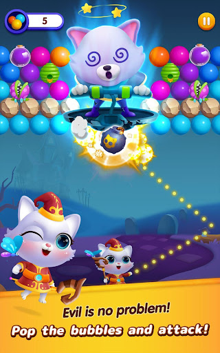 Bubble Shooter: Cat Island Mania 2020 apktram screenshots 8