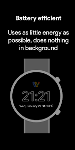 Pixel Minimal Watch Face – Watch Faces for WearOS 2