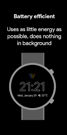 Pixel Minimal Watch Face - Watch Faces for WearOSのおすすめ画像2