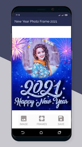 Happy New Year Photo Frame 2021  Screenshots 7