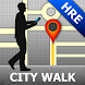 Harare Map and Walks