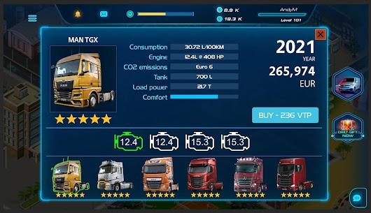 Virtual Truck Manager 2 MOD (Free Stuff) 2