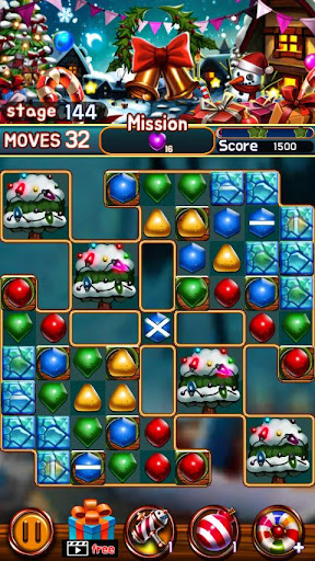 Jewel Snow Puzzle 1.6.0 screenshots 1